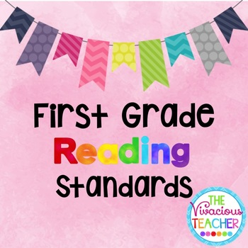 Common Core Standards Posters First Grade Reading