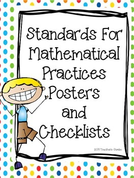 Common Core Standards For Mathematical Practices Posters a