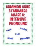 Common Core Standard L.6.1b: Intensive Pronouns
