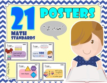 "Solving Math Problems - Common Core Standards Posters - ""I"