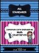 Common Core Standards: Math Assessments, Checklists, Poste