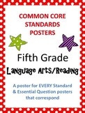 Common Core Standards Posters AND Essential Questions-Fift