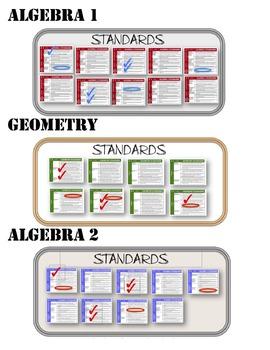 Common Core Standards Posters BUNDLE (California Standards