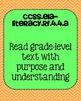 4th grade ELA Foundational Skills in Reading Common Core S