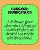 Kindergarten ELA Speaking & Listening Common Core Standard