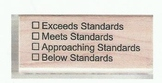 Common Core Standards Stamp