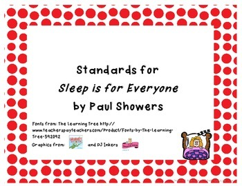 Common Core State Standard for Sleep is for Everyone