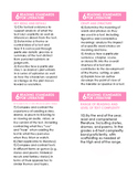 Common Core State Standards 6-12 ELA:Reading Cards-Literary Text