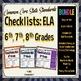 Common Core State Standards Checklist: Grades 6, 7, 8 ELA