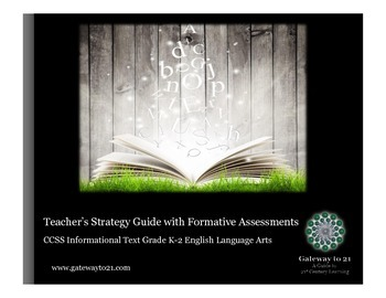 Common Core Strategy Guide with Formative Assessments Info