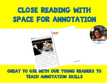 Common Core Strategy in Close Reading