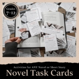Common Core Task Cards: Reading Literature Grades 9-12