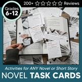 Reading Literature Task Cards: Grades 9-12