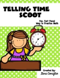 Common Core: Telling Time Scoot Game