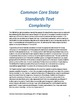 Common Core: Text Collection with Complexity Analyses - Ea