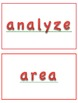 Common Core Tier 2 Vocabulary:  Group 1