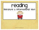 Common Core Titles and Headings {polka dots}