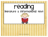 Common Core Titles and Headings {stripes}
