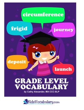 Common Core Vocabulary Checklist  (K - 5th)