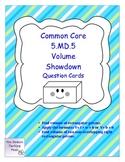 Common Core Volume Showdown Game 5.MD.5