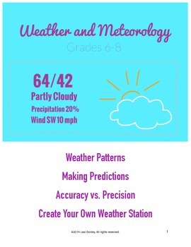 Common Core Weather and Meteorology Unit Plan