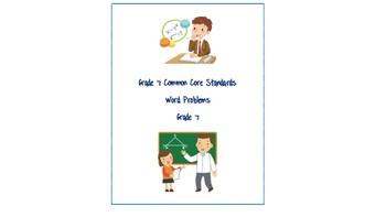 Common Core Word Problems Bundle - Grade 7