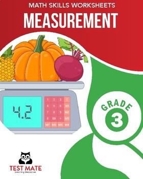 Common Core Worksheets: Measurement, Grade 3