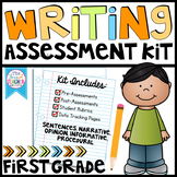 First Grade Writing Assessment Kit