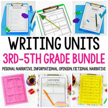 Writing Workshop Bundle - Yearlong Writing - Informational