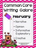 Common Core Writing- February