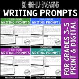 Common Core Writing Prompt Bundle