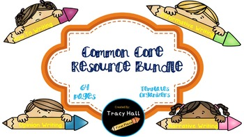Common Core Writing Resources Bundle