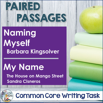 Writing Task: Naming Myself  by Kingsolver and My Name by