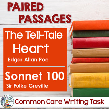 Common Core Writing Task:   Poe's The Tell-Tale Heart & Gr