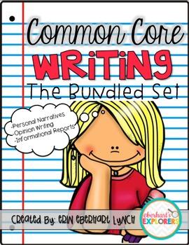 Common Core Writing: The Bundled Set!
