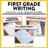 Writing for First Grade - Narratives, Opinion & Informative