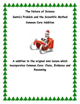 Common Core component for Santa's Problem and the Scientif