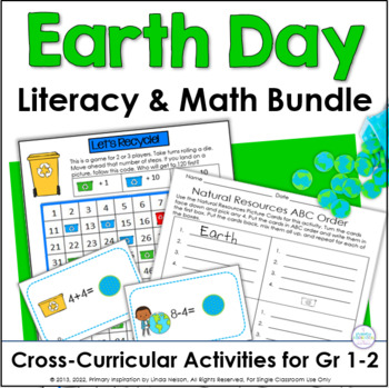Common Core for Earth Day: Cross-Curricular Literacy and M