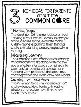 Common Core for Parents