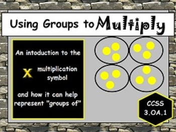 Multiplication: The x Symbol Means Groups Of OA.1 FLIPCHAR