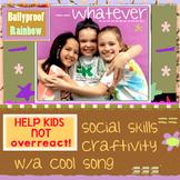 SEL Social Skills - self control - don't react!