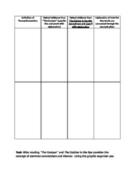 Common Core poem and novel connections lesson plan