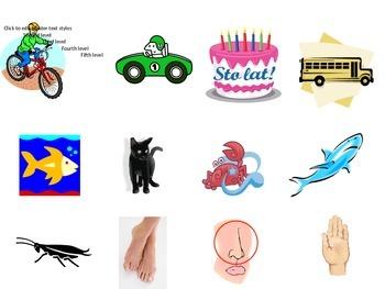Common Kindergarten Vocabulary