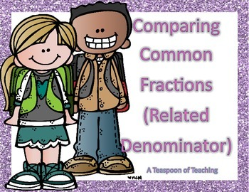 #thankfulsales Comparing Common Fractions