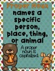 Word Work - Common & Proper Nouns Fall Sort {ABC Order, An