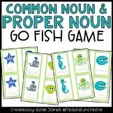 """Common Nouns and Proper Nouns """"Go Fish"""" game"""