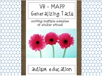 VB - MAPP Generalizing Tacts