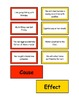 Common Sense Cause and Effect Cards