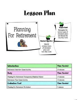 Common Types Of Retirement Plans Lesson