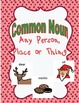Common and Proper Nouns- Christmas Themed